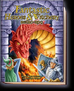 Cover of Fantastic Heroes & Witchery